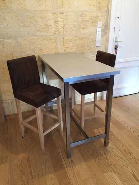 Achetez table bar ikea utby occasion annonce vente - Table cuisine 2 personnes ...