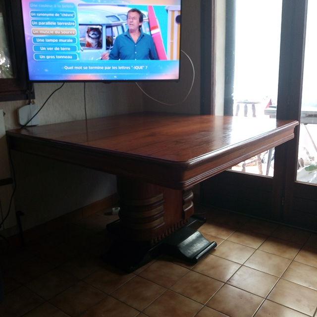 table INDIENNE ancienne en bois massif Meubles