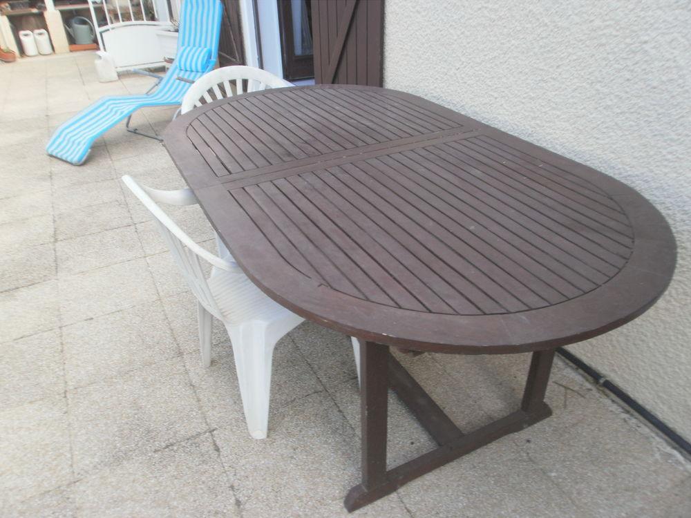 Achetez table jardin bois occasion, annonce vente à Coursan (11 ...