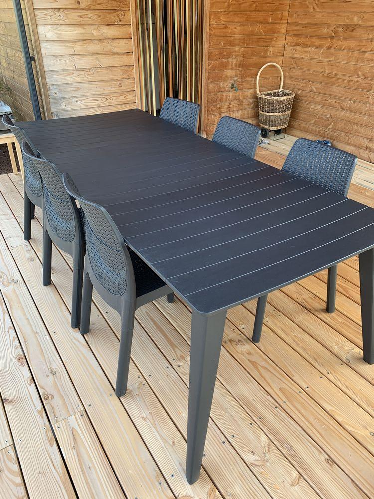 Table de jardin + 6 chaises 260 Bernac (81)
