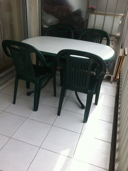 Achetez table de jardin occasion annonce vente cr teil for Table de jardin occasion