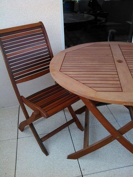 stunning table de jardin bois occasion gallery amazing. Black Bedroom Furniture Sets. Home Design Ideas