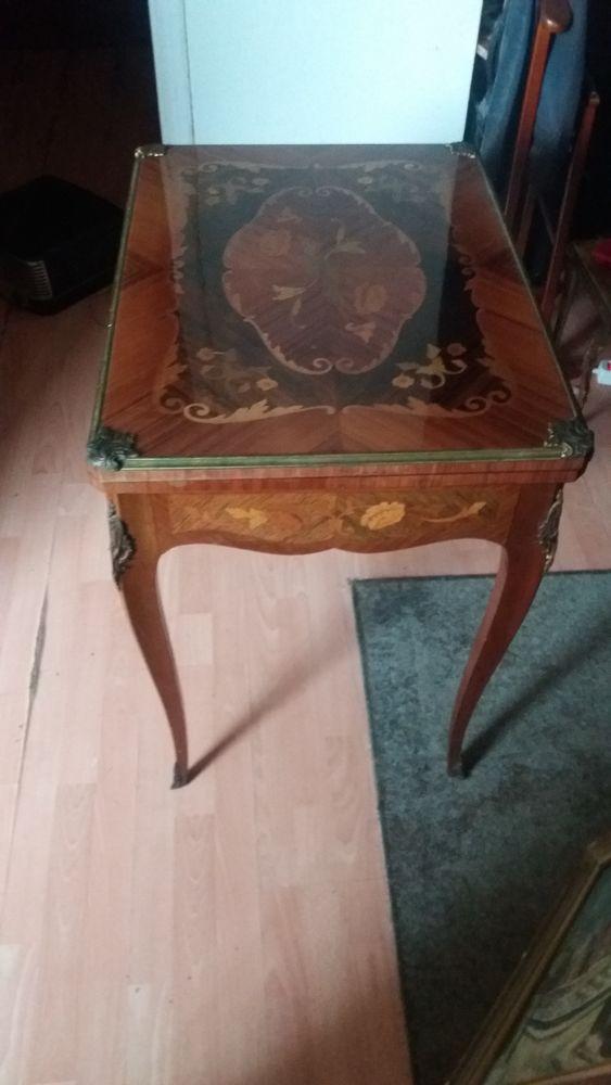 Table de Jeux ancienne en palissandre  290 Paris 19 (75)