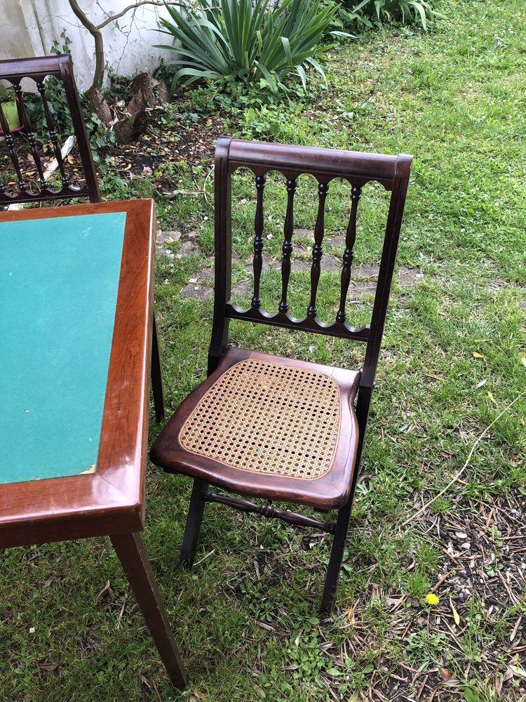 table de jeux de cartes + 4 chaises  0 Bordeaux (33)