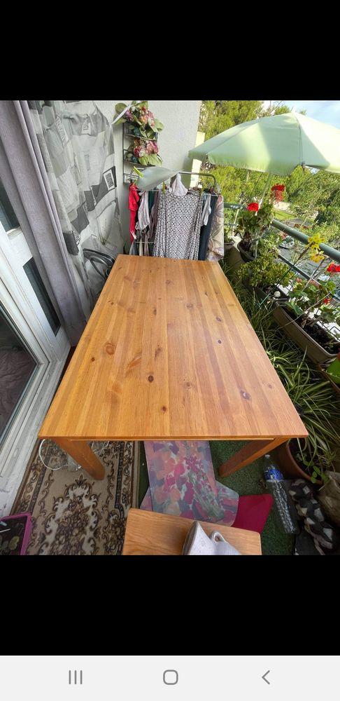 Table à manger en bois + 4 chaises 100 Montpellier (34)