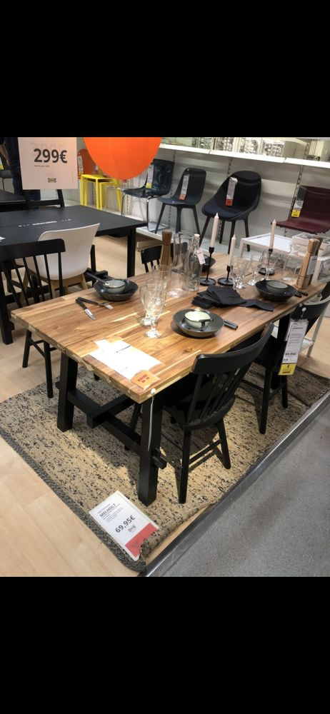 table a manger + 4 chaise en bois 400 Vitry-sur-Seine (94)