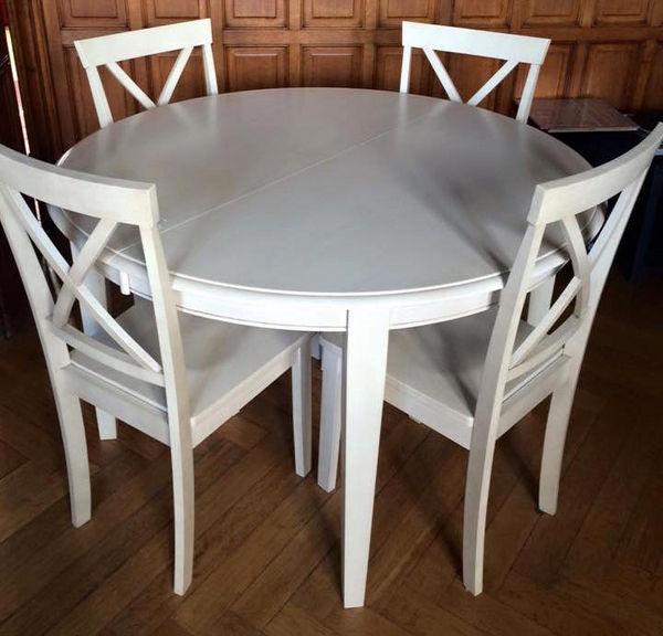 Table à manger + 4 chaises 150 La Rochelle (17)