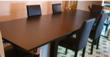 table à manger et six chaises Meubles