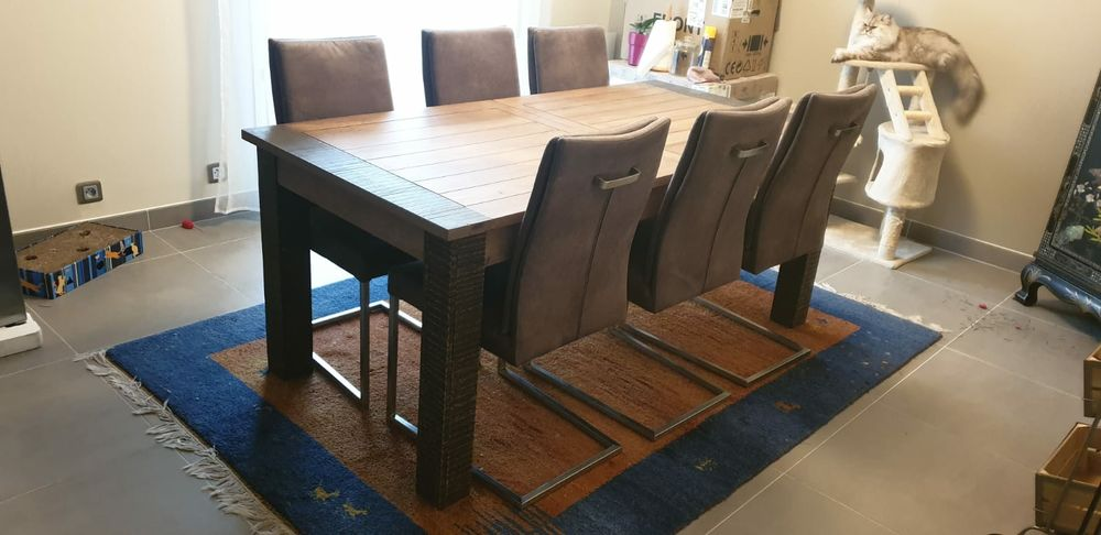 lot table à manger   6 chaises 920 Clamart (92)