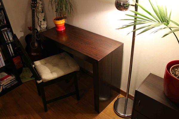 Table à manger / console marron wengé 100 Morsang-sur-Orge (91)