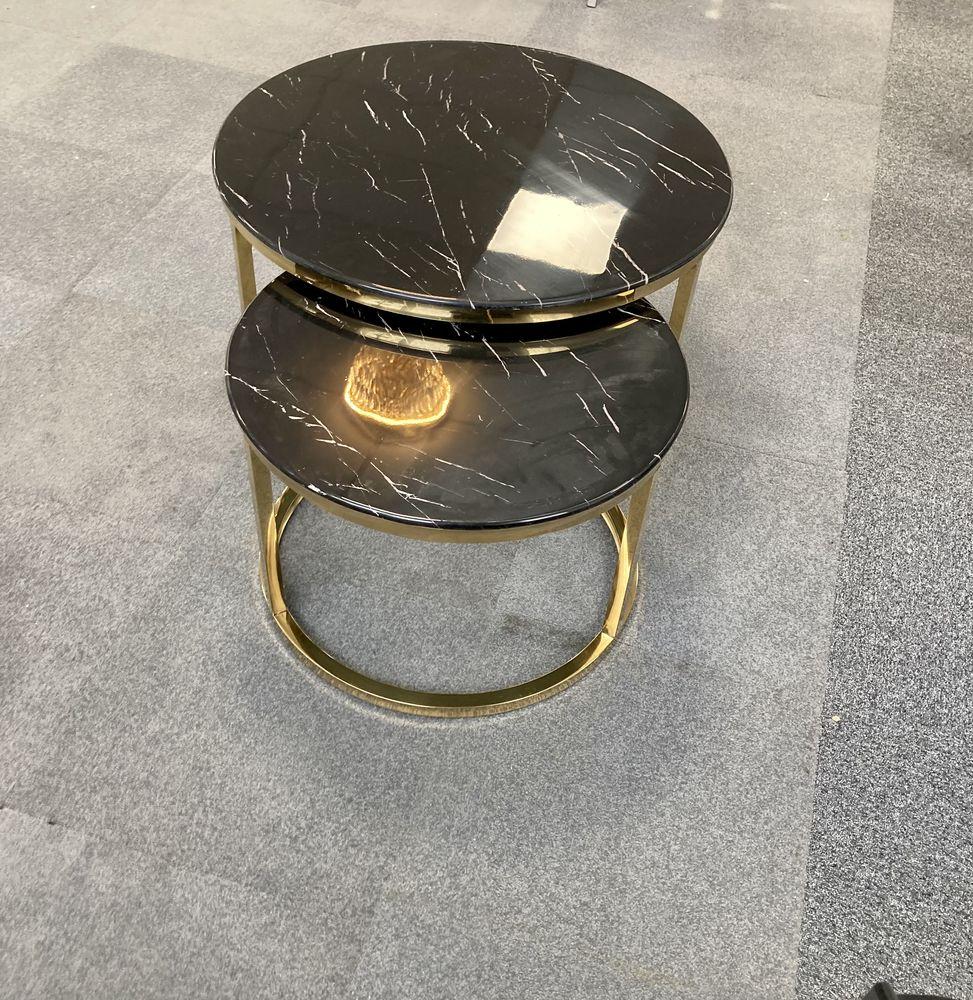 table à manger noir vitré design et chaises 1 Évry (91)