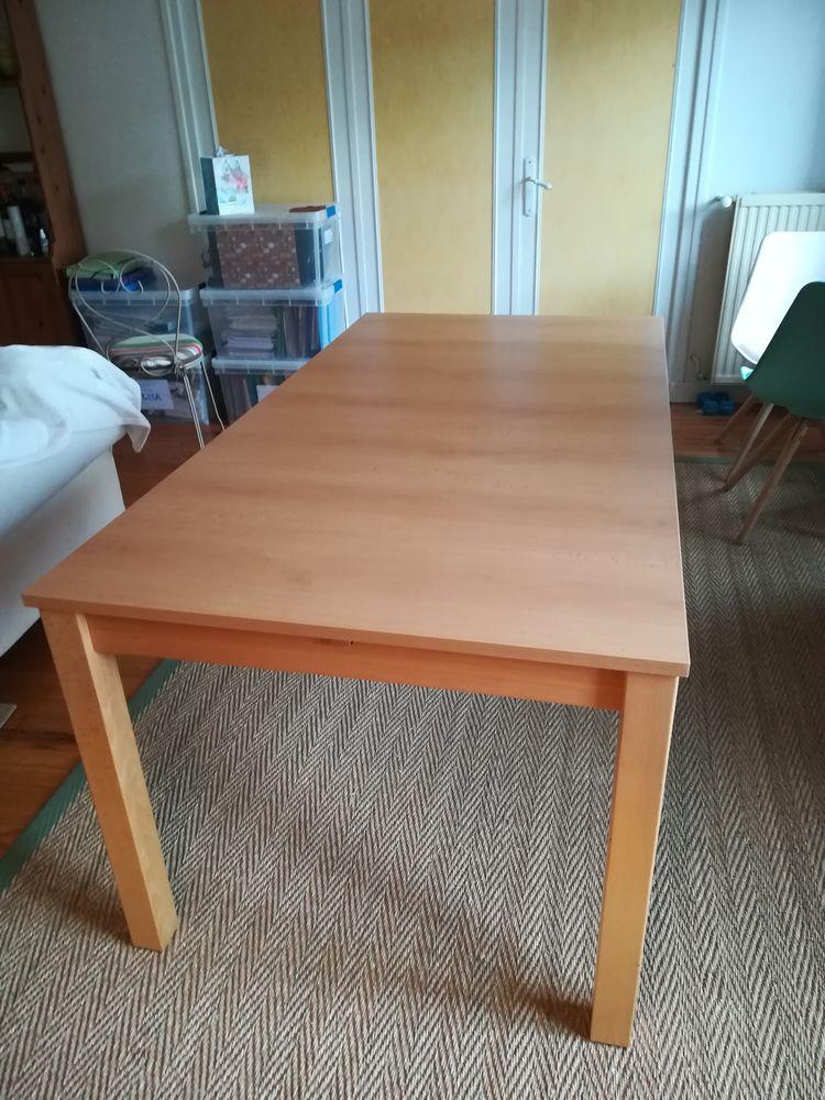 Table à manger rectangulaire, en bois clair 90 Tain-l'Hermitage (26)