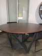Table à manger ronde en bois 120cm achetée 304€
