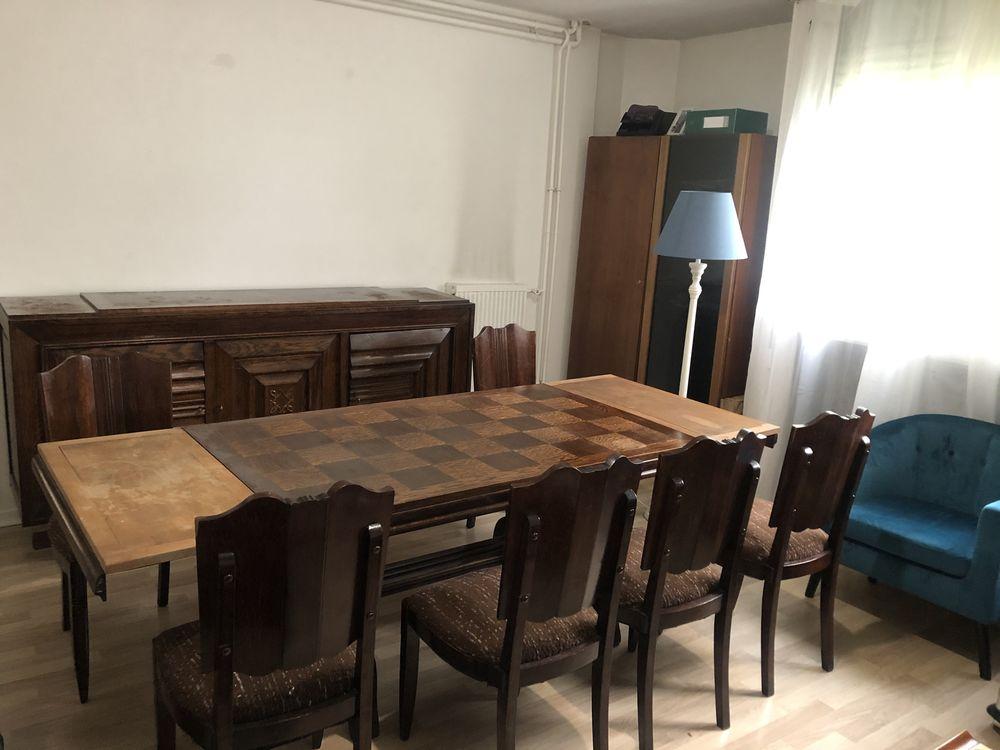 Table à manger / salle à manger en bois . 6 chaises 990 Lille (59)