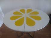 Table à manger vintage 70s, design original 280 Antony (92)