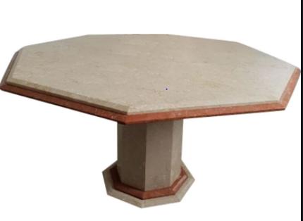 Table en marbre octogonale  220 La Ciotat (13)