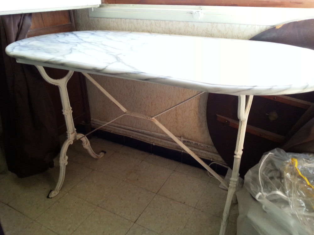 Achetez table en marbre occasion annonce vente paulhan for Table en marbre occasion