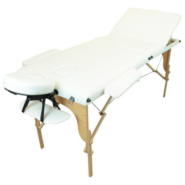 Table Massage Bois 2, 3 ou 4 ZONES Blanc Rose NEUF 105 Paris 16 (75)