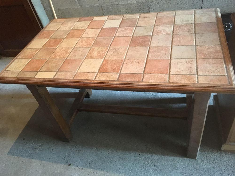 table massive en carrelage de crédence 50 Sainte-Geneviève-des-Bois (91)