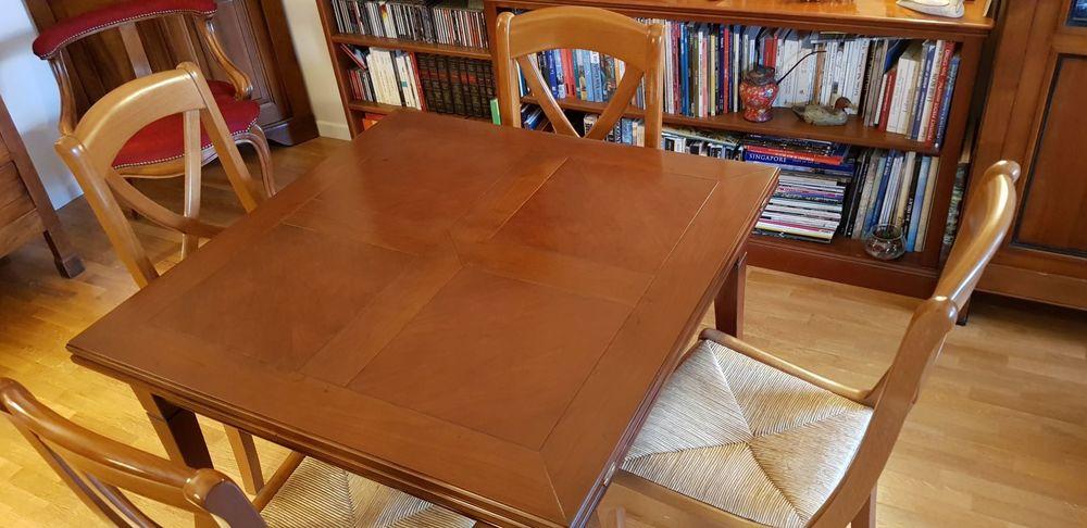 Table merisier carrée (90*90)  500 Asnières-sur-Seine (92)