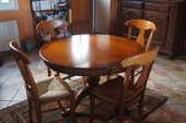 table merisier et chaises 350 Marseille 8 (13)