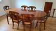 Table en merisier et 6 chaises Meubles