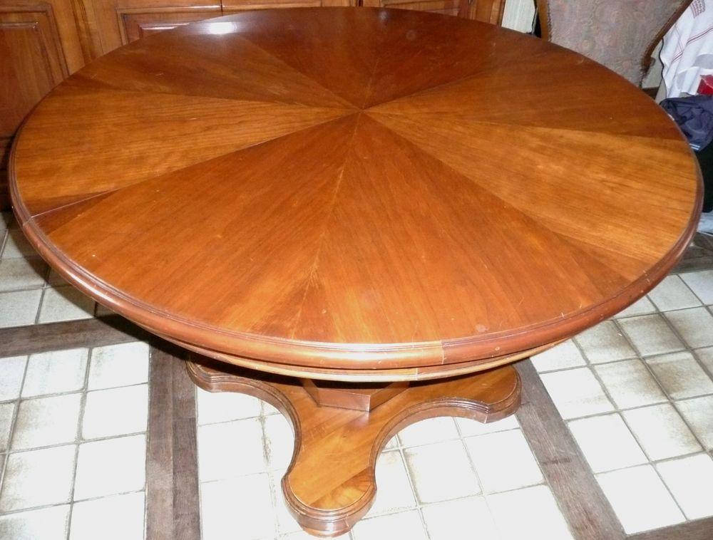 Table merisier massif 100% 245 Courseulles-sur-Mer (14)