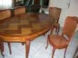 TABLE MERISIER et RALLONGE 450 Masseube (32)