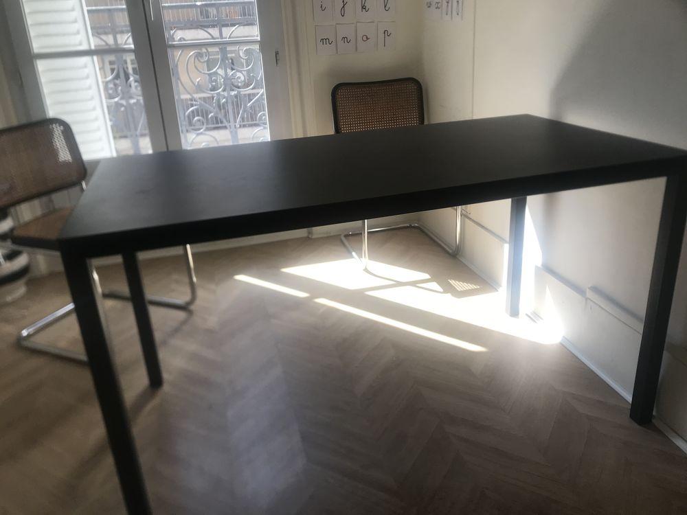 TABLE METALIQUE NOIRE 60 Paris 15 (75)
