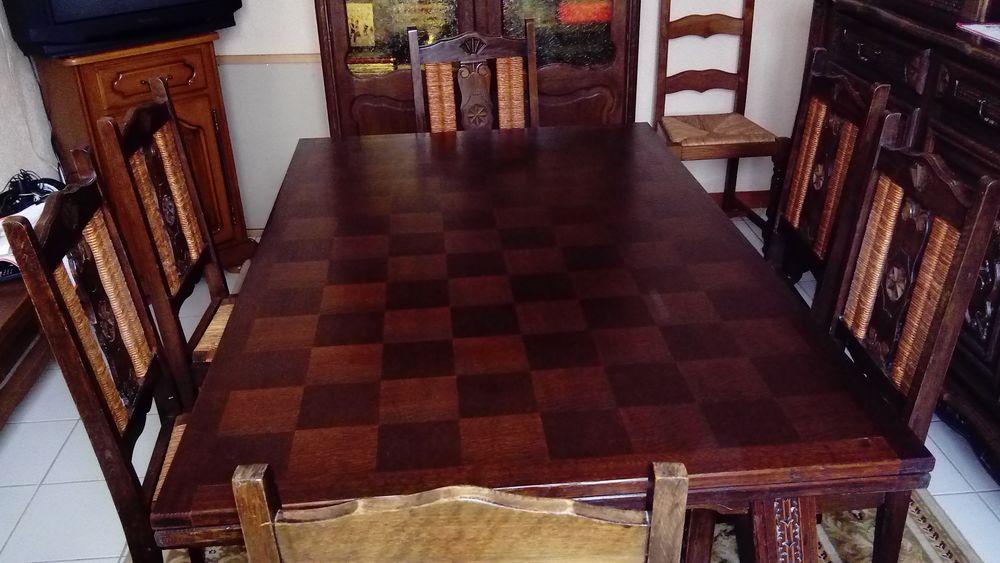 Table et meuble de salle à manger chêne 300 Craonnelle (02)