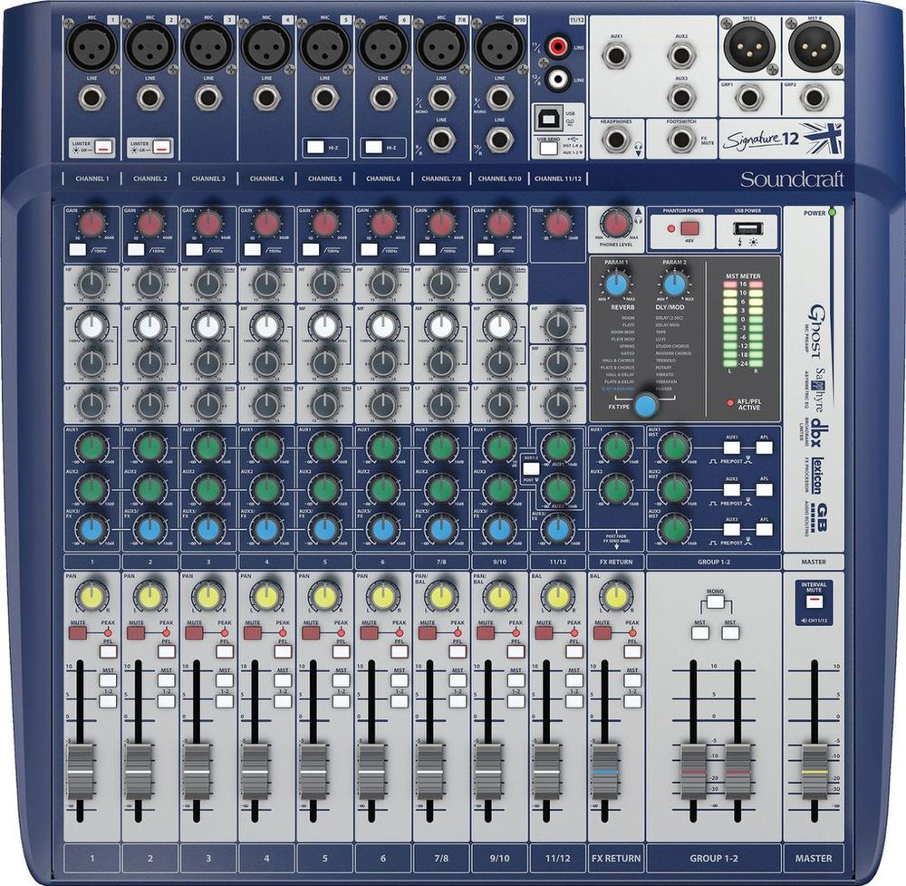 Table de Mixage Soundcraft Signature 12 240 Istres (13)