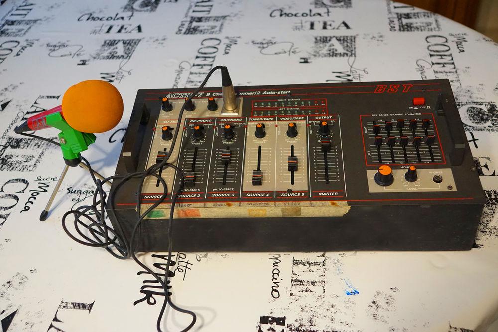table de mixage bst activ 7