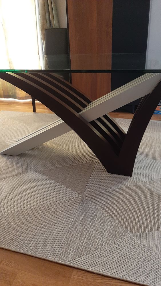 Table moderne en verre 0 Canteleu (76)