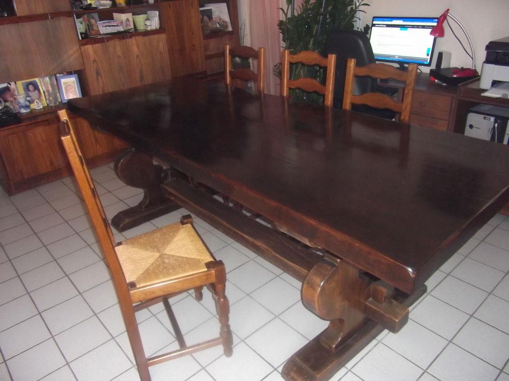 table monastère 244x88x7 cm bois massif antiquité 1000 Castelnau-le-Lez (34)