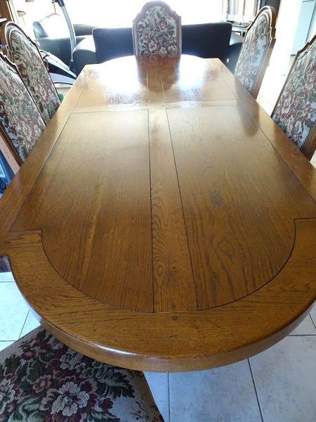 Tables en ch ne occasion en dordogne 24 annonces achat et vente de tables en ch ne - Table monastere d occasion ...