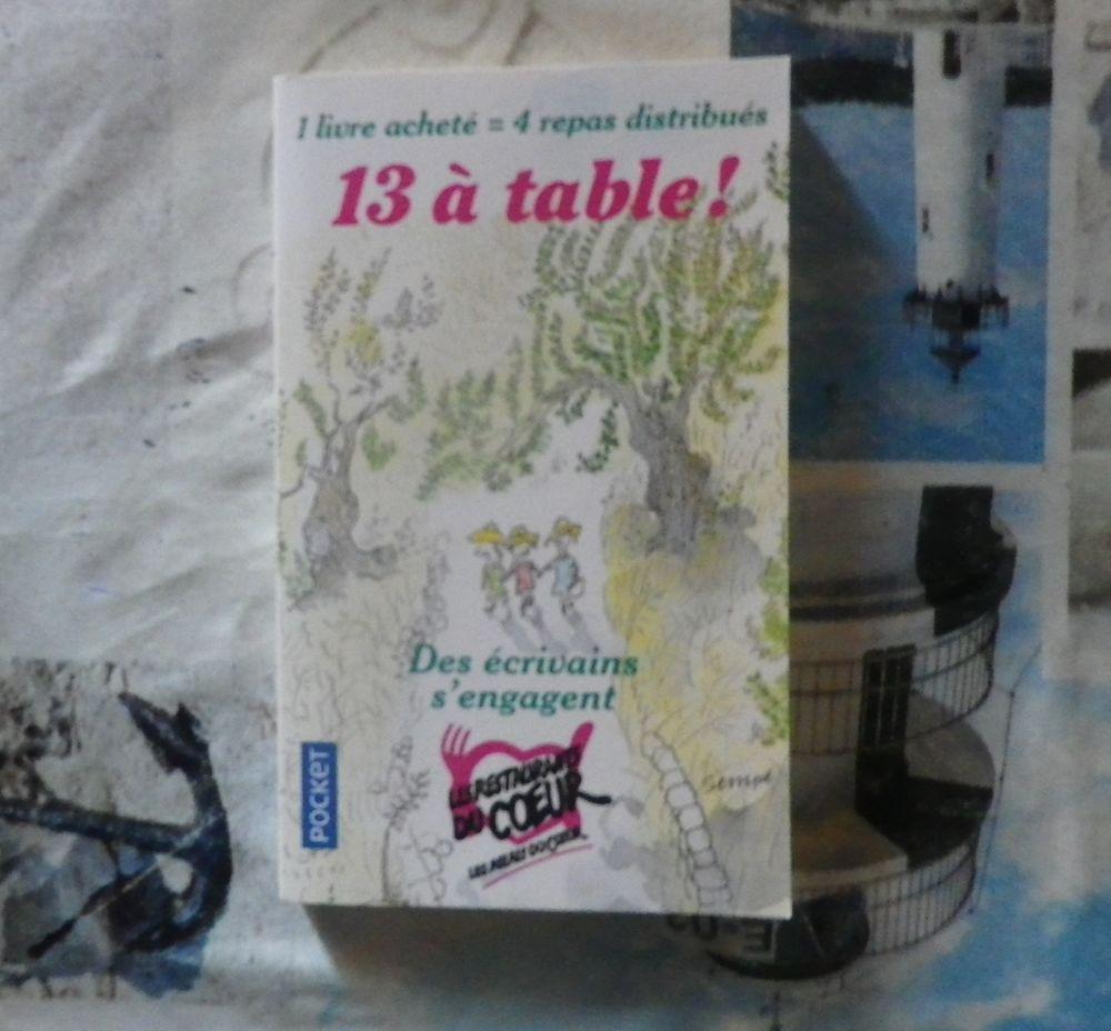13 A TABLE ! 13 nouvelles d'écrivains 2 Bubry (56)