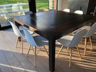 TABLE NOYER ET PLATEAU CENTRAL PIERRE + 8 CHAISES EAMES 600 Radinghem-en-Weppes (59)