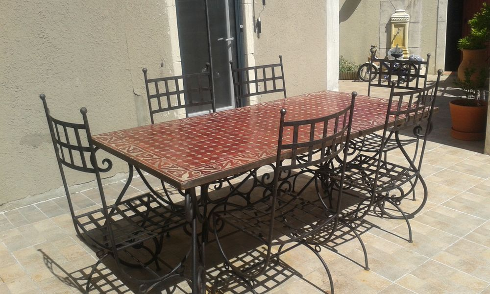 Table Fer Forge Mosaique Occasion.Table Fer Forge Mosaique Occasion Lakesnake