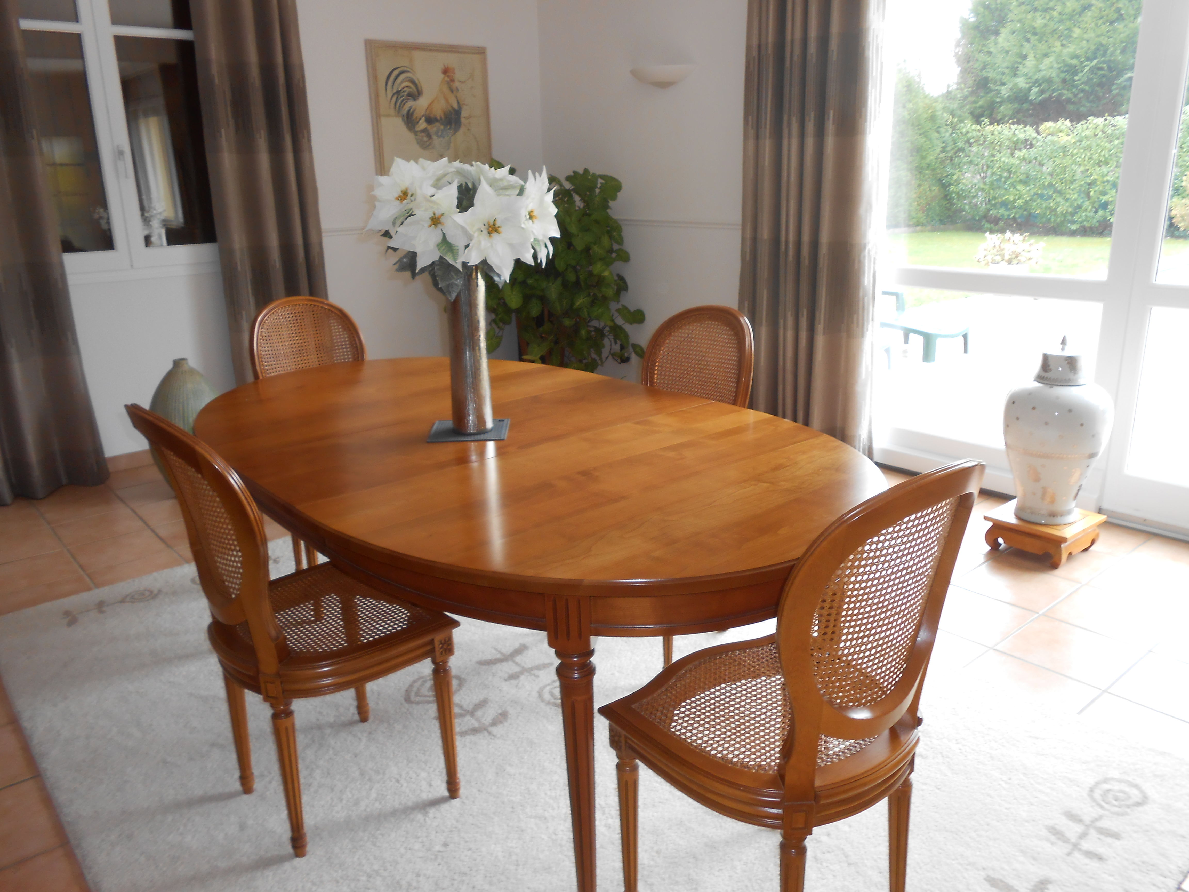 table ovale + chaises 540 Troyes (10)