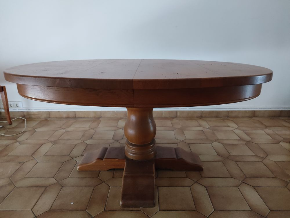 Table ovale en chêne 120 Montreuil (93)