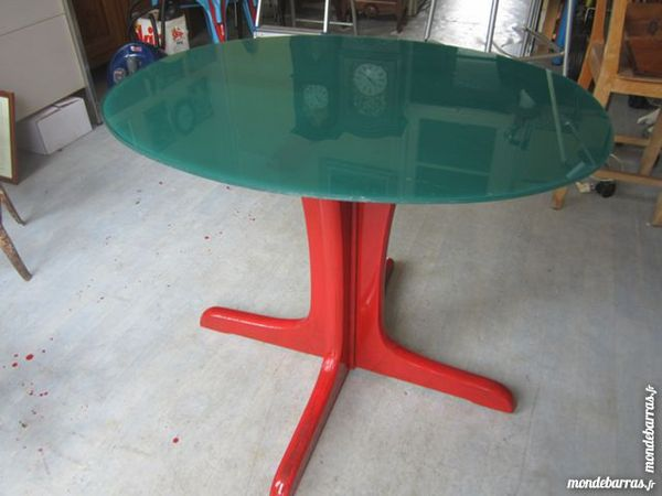 table ovale design relooquée Meubles
