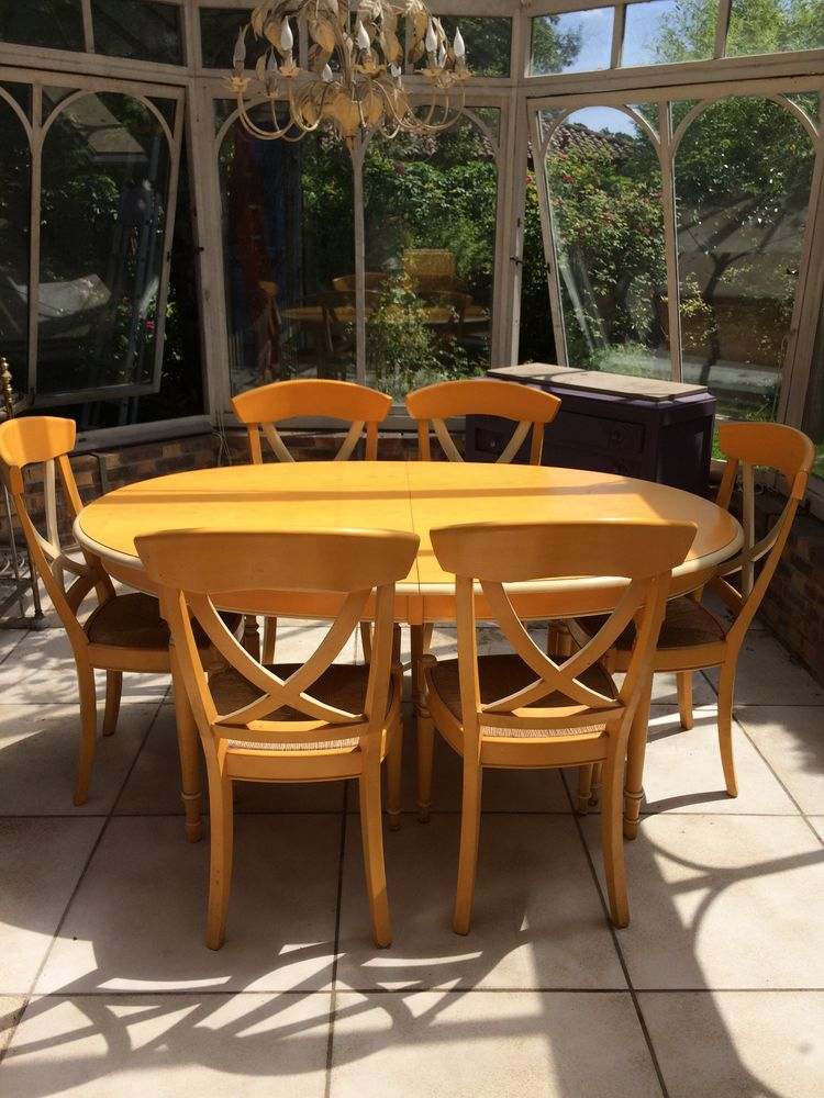 table ovale extensible 6 chaises 300 Pessac (33)