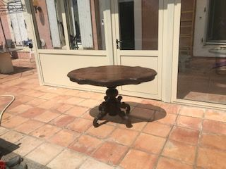 table ovale louis philippe  190 Tulette (26)