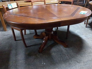 Table ovale style Louis Philippe + 2 allonges 180 Toulouse (31)