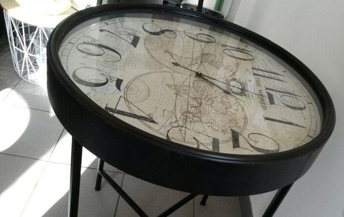 Table 2 personnes- horloge design 80 Genainville (95)