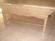 Table pétrin chêne massif