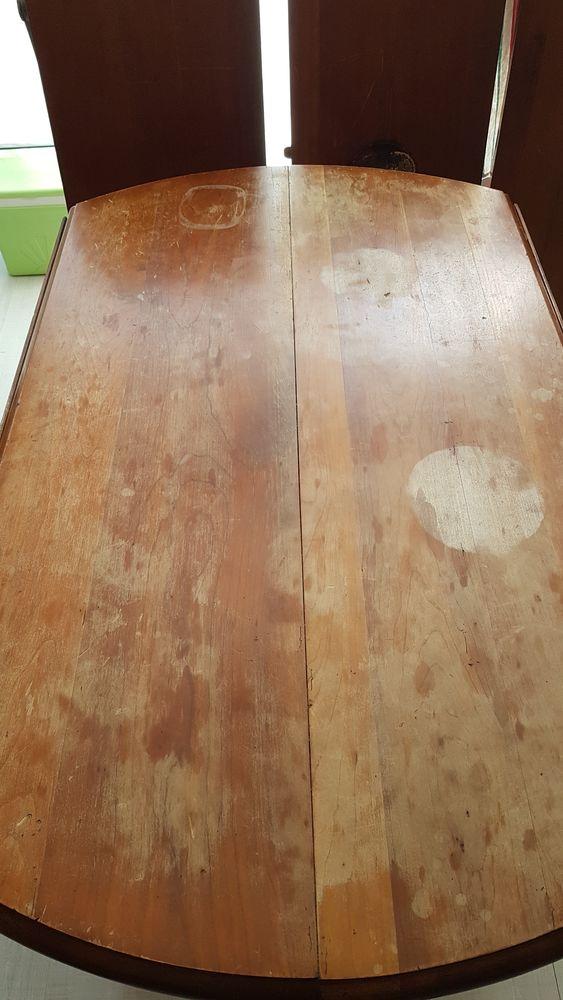 Table 6 pieds avec 3 rallonges. Plateau à rénover (ponçage) 50 Orvault (44)