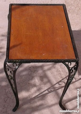 TABLE PIEDS FER FORGE 30 Vidauban (83)