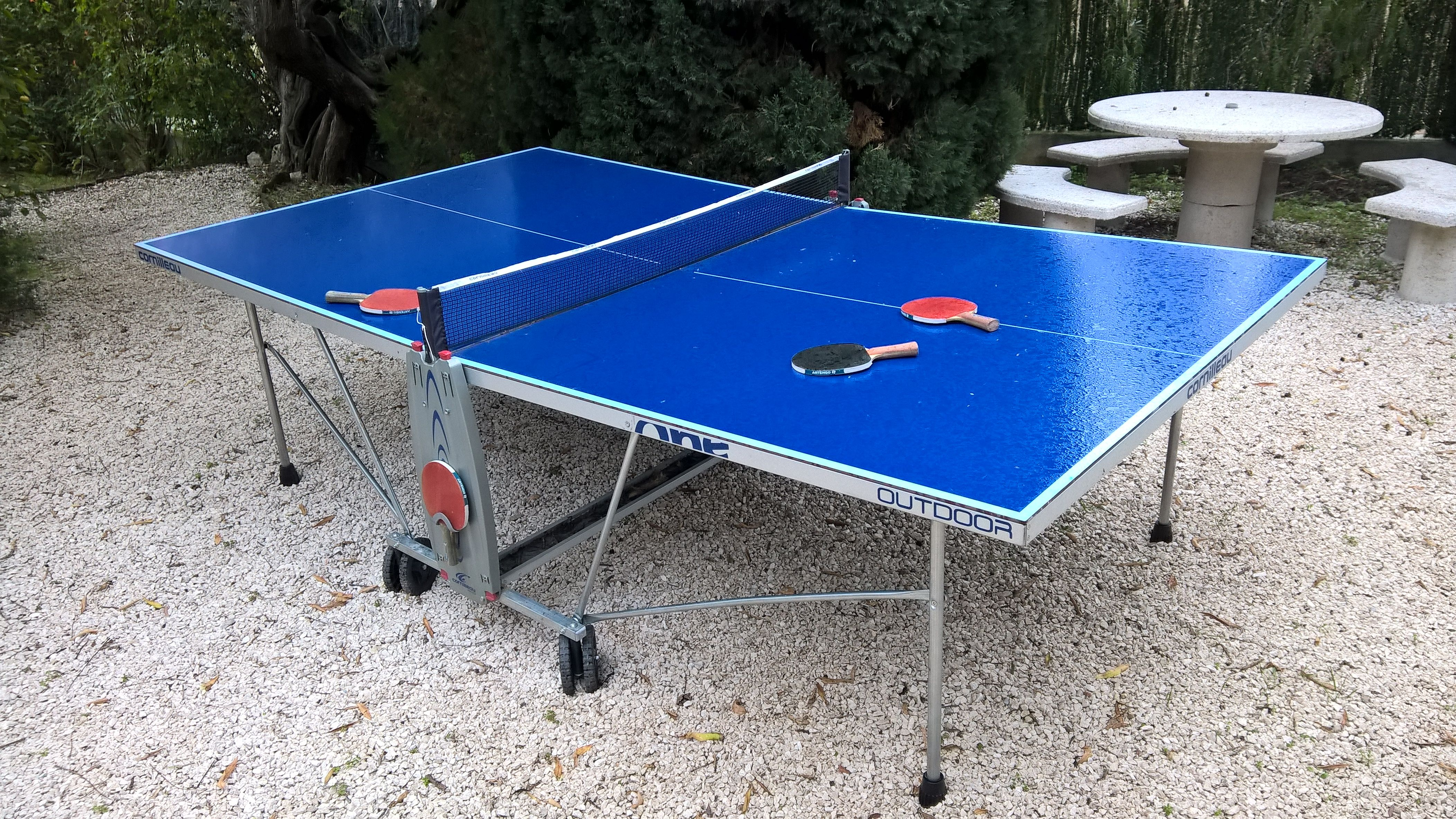 table de ping pong doccasion. Black Bedroom Furniture Sets. Home Design Ideas
