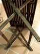 TABLE PLIANTE BOIS + 2 CHAISES Meubles